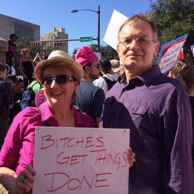 Bitches Get Things Done  Austins Womens March