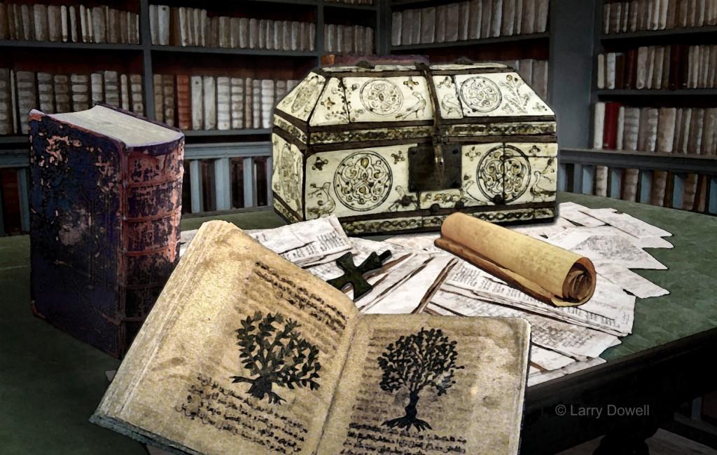 AntiquarianBookshop-Illustration