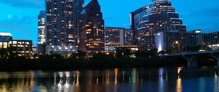 Downtown Austin at Twilight