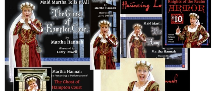 Branding & Marketing for Maid Martha, Medieval Comedienne & Stand-Up Historian