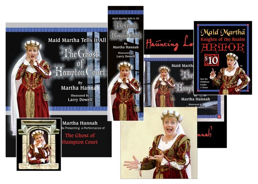Maid Martha Branding
