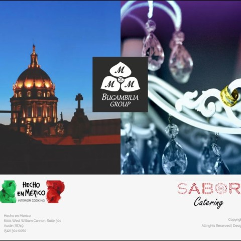 Sabor Catering Website