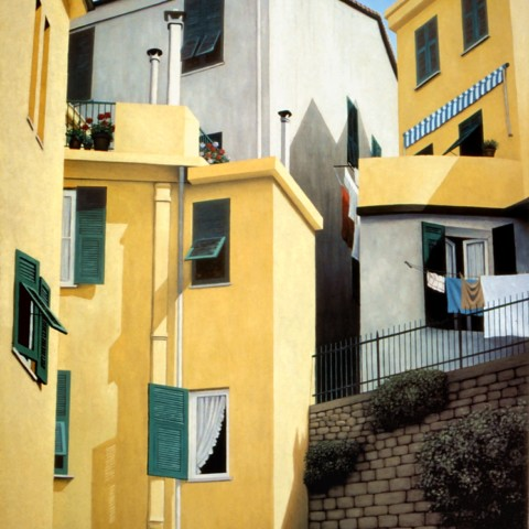 Yellow Houses, Vernazza
