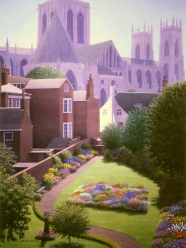 Yorkminster Cathedral in the Afternoon Sun- web