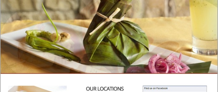 Hecho en Mexico Restaurant Website